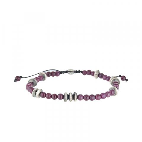 "Bracelet ""Lohan"" Améthyste..."