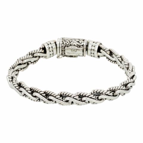 """Bracelet """"Jacob"""", Argent..."""