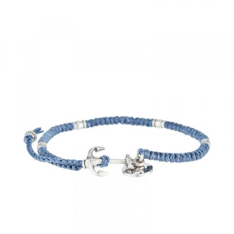 Bracelet en corde cirée...