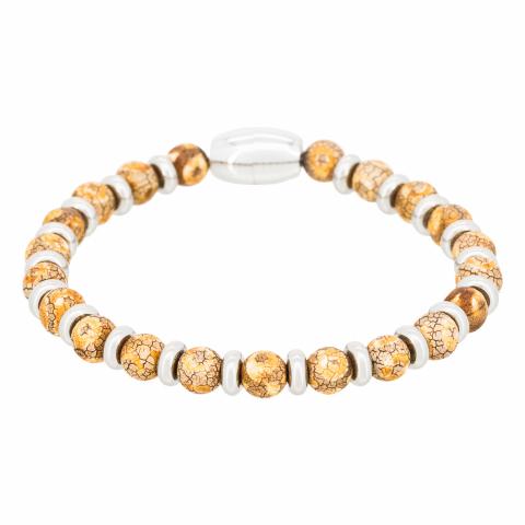 Bracelet en pierres d'agate...