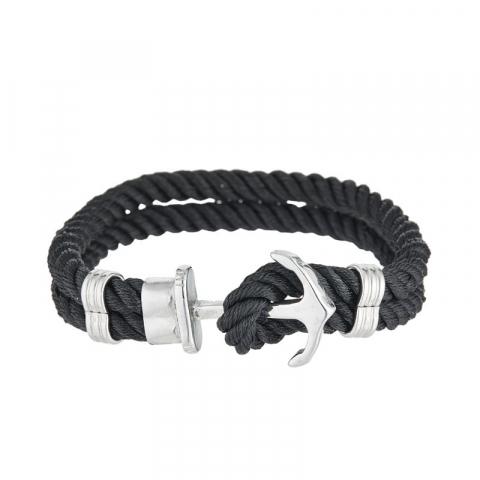 """Bracelet corde """"Black..."""