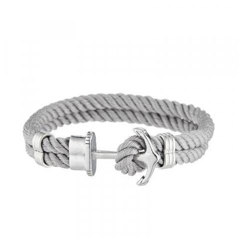 "Bracelet corde ""Grey..."