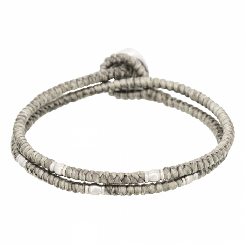 Bracelet double cordon...
