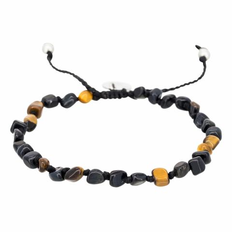 "Bracelet en perles ""Tiger..."