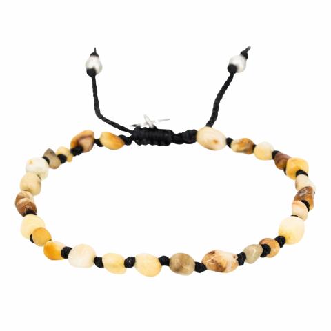 """Bracelet en pierre """"Ivory..."""
