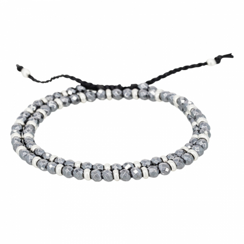 Bracelet double cordon en...