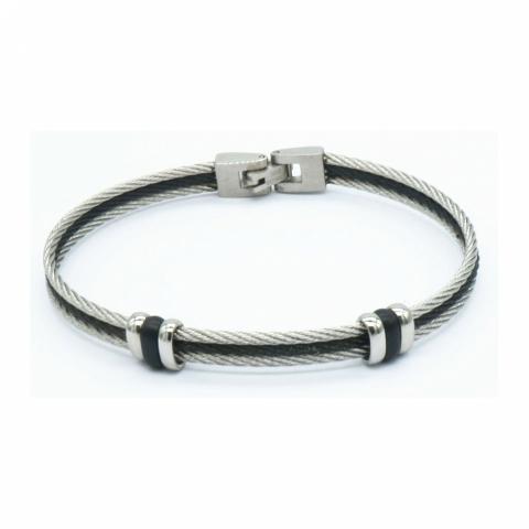 Bracelet triple cable en...